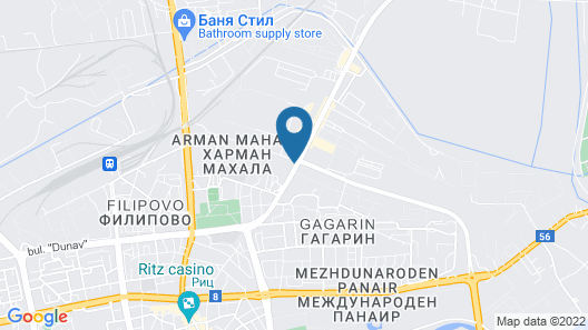Best Western Premier Plovdiv Hills Map