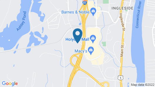 Homewood Suites by Hilton Holyoke-Springfield/North Map