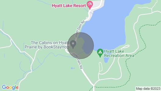 #47 The Cabins at Hyatt Lake - Sleeps 5 - Hot Tub Map