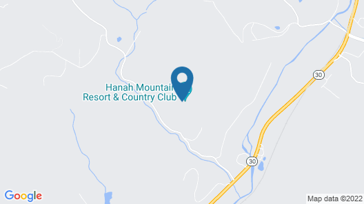 Hanah Mountain Resort and Country Club Map