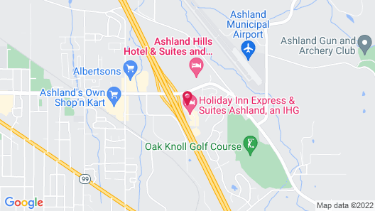Holiday Inn Express & Suites Ashland, an IHG Hotel Map