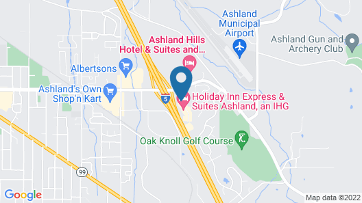 Holiday Inn Express & Suites Ashland, an IHG Hotel Map