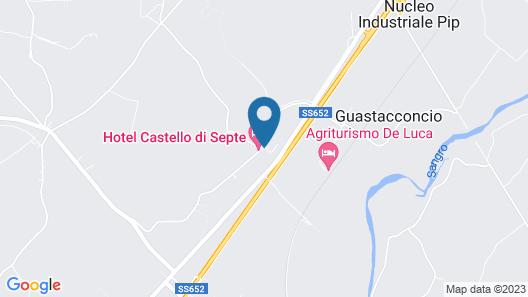 Hotel Castello di Septe Map