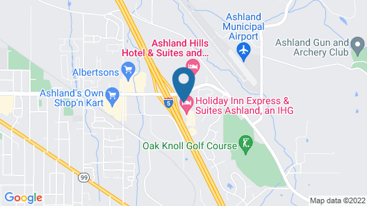 Holiday Inn Express & Suites Ashland Map