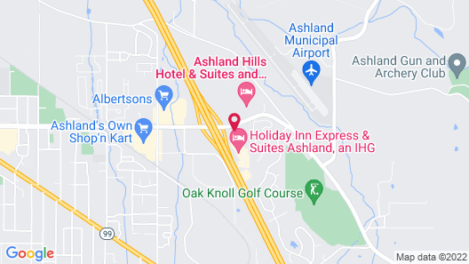 Relax Inn At Ashland Map