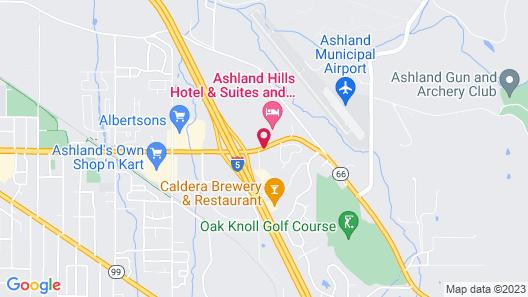 Ashland Hills Hotel & Suites Map