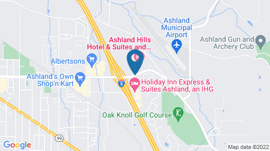 Ashland Hills Hotel & Suites Map