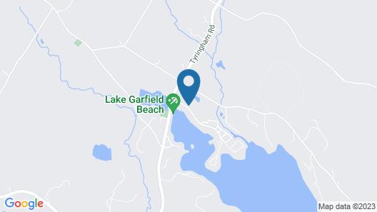 Spacious Lakeside Berkshire Home Close to Tanglewood and Jacob's Pillow Map
