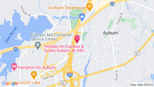 Holiday Inn Express Hotel & Suites Auburn, an IHG Hotel Map