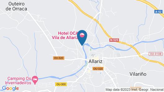 Oca Vila de Allariz Hotel & Spa Map