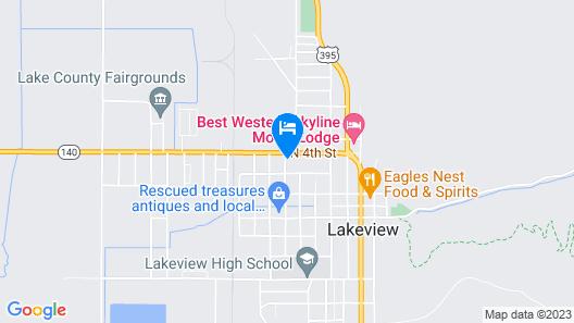 Interstate 8 Motel Map