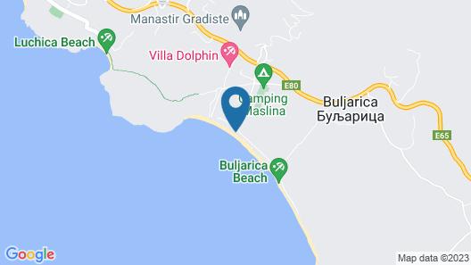 Hotel SaVojo Map