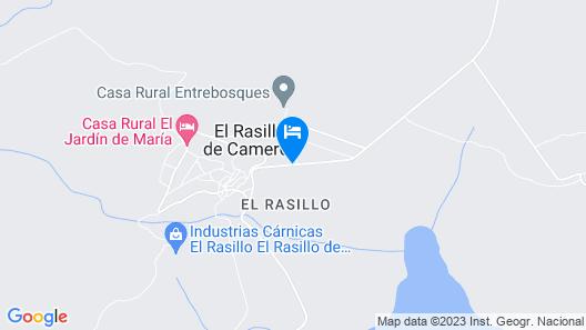 Casa El Olmo II Map