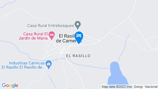 Casa El Olmo Map