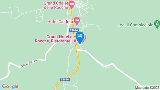 Grand Hotel delle Rocche Map