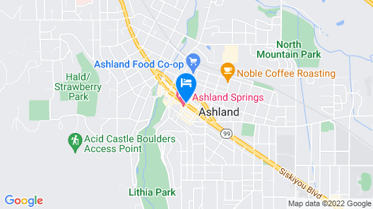 Ashland Springs Hotel Map