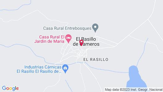 Hotel Rural El Patio de la Morera Map