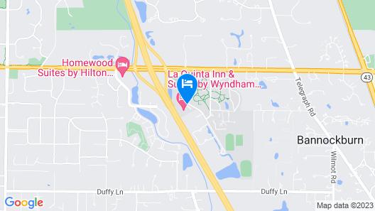 La Quinta Inn & Suites by Wyndham Bannockburn-Deerfield Map