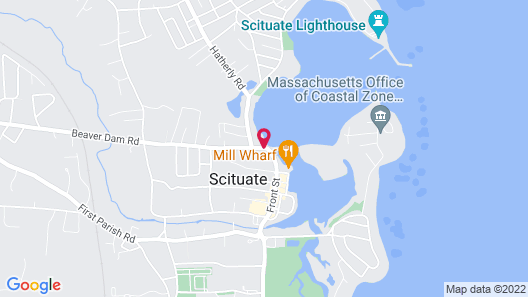 The Inn At Scituate Harbor Map
