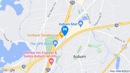 La Quinta Inn by Wyndham Auburn Worcester Map