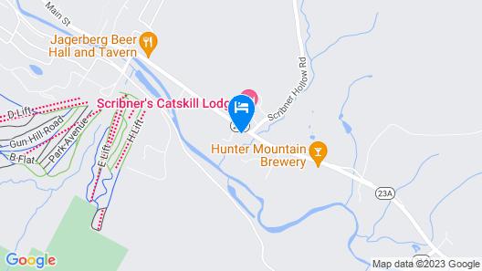 The Hunter Inn Map