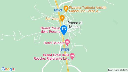 Grand Chalet delle Rocche Map