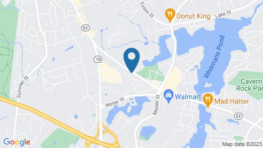 Boston Motel Map