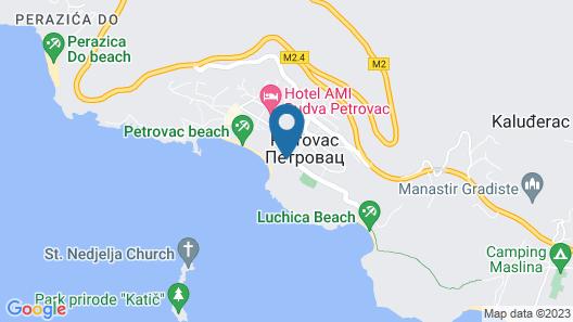 Hotel Rivijera Map