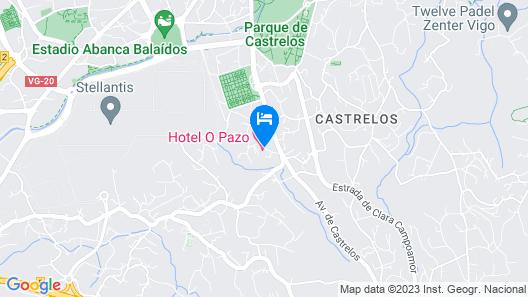 Hotel O Pazo Map