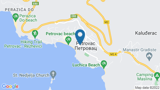 Vile Oliva Hotel & Resort Map