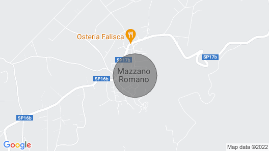 Holiday Homes IN THE Medieval Village OF Mazzano Romano- Casa Graziella Map