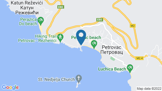 MTV Apartments Petrovac Map