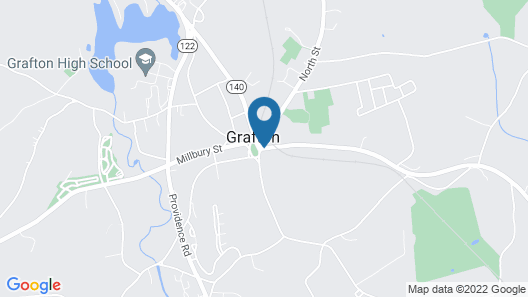 Hunters Grille and Tap at The Grafton Inn Map