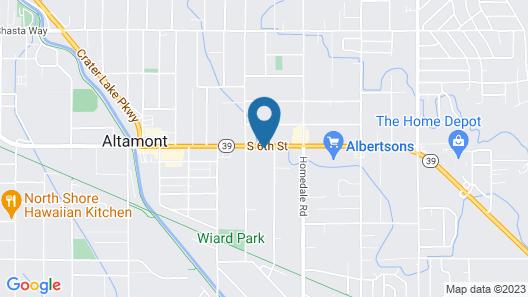 Motel 6 Klamath Falls, OR Map