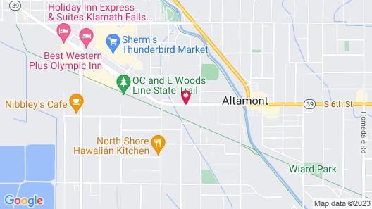 Days Inn by Wyndham Klamath Falls Map