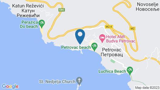 Monte Casa Spa & Wellness Map