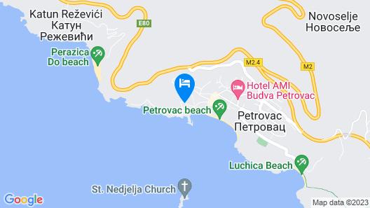 Hotel Danica Map
