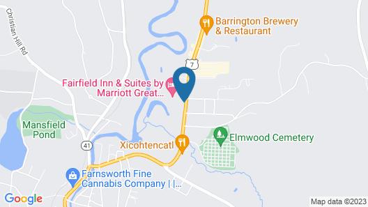 Monument Mountain Motel Map