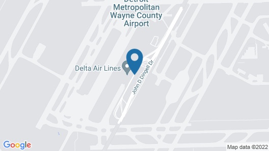 The Westin Detroit Metropolitan Airport Map