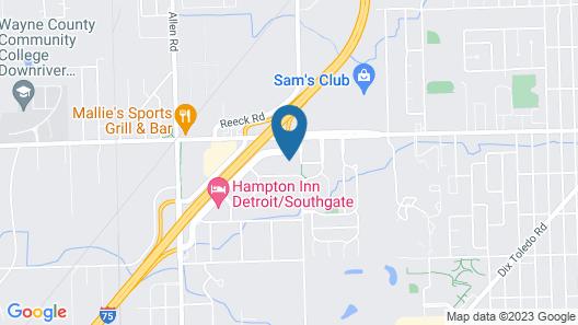 Holiday Inn Southgate (Detroit-South), an IHG Hotel Map
