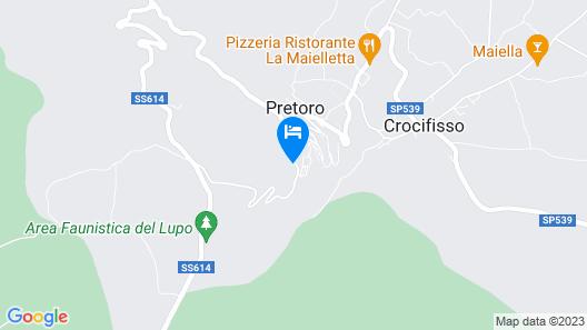 Residence Praetorium Maiella Map