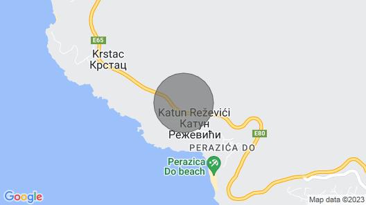 Villa Rezevici Map