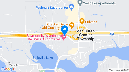 Baymont by Wyndham Belleville Airport Area Map