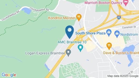 Best Western Braintree Inn Map