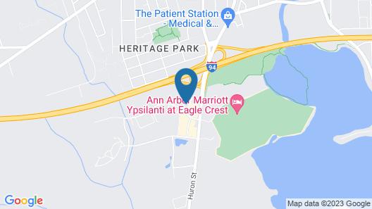 Fairfield Inn & Suites by Marriott Ann Arbor Ypsilanti Map