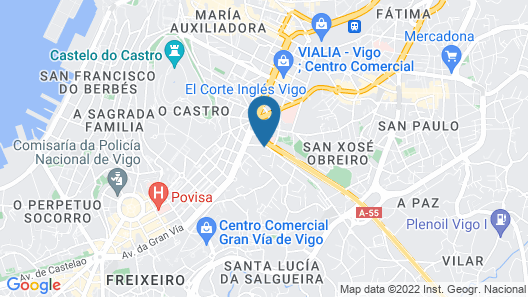 Kaps Hostel Vigo Map
