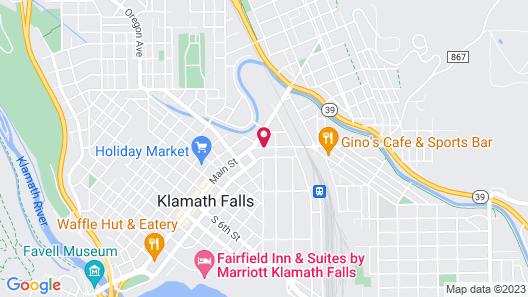 Maverick Motel Map