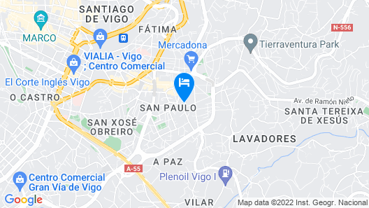 Carrera Houses Cristo Map
