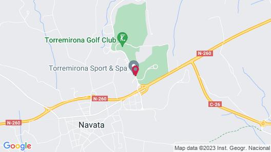 Torremirona Golf & Spa Resort Map