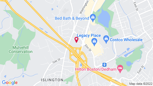 Holiday Inn Boston - Dedham Hotel & Conference Center, an IHG Hotel Map